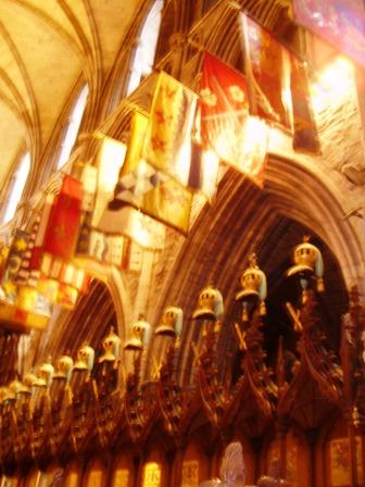 Stalls of Knights of St.Patrick