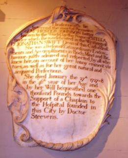 Epigraph above Jonathan Swift'sTomb