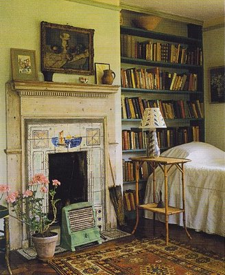 A room inspired by virginia woolf blogging woolf - The writers cottage inspiration by design ...