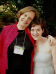 Anne Fernald and Megan Branch
