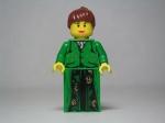 Virginia Woolf, as represented in Lego blocks