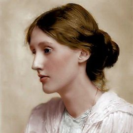 Beresford portrait of Virginia Woolf