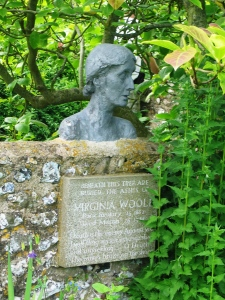 V Woolf bust Monk's House