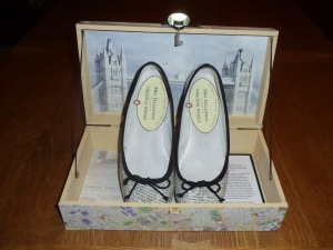 box with shoes