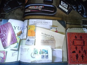 Leonard's desk, as pictured on Pages 122-123.