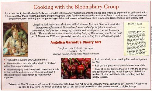 Bloomsbury Recipe
