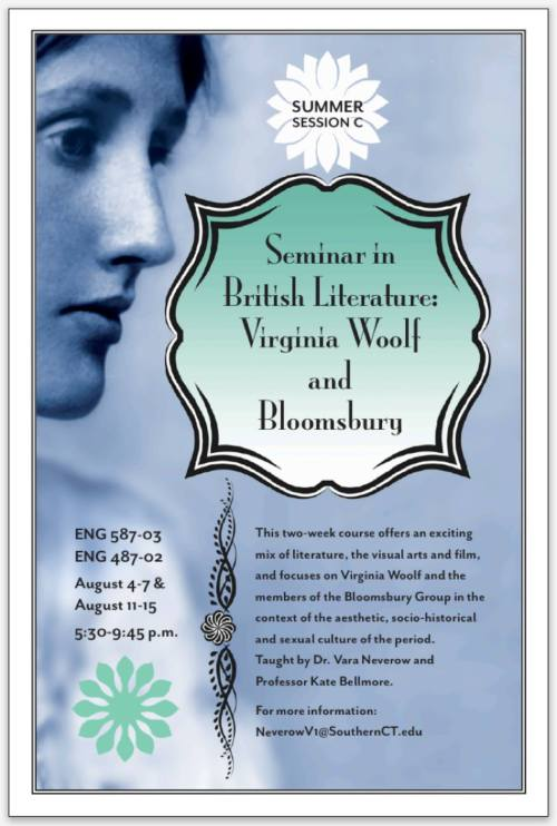 Woolf seminar at SCSU