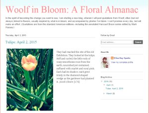 Woolf in Bloom
