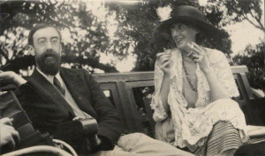 by Lady Ottoline Morrell, vintage snapshot print, June 1923