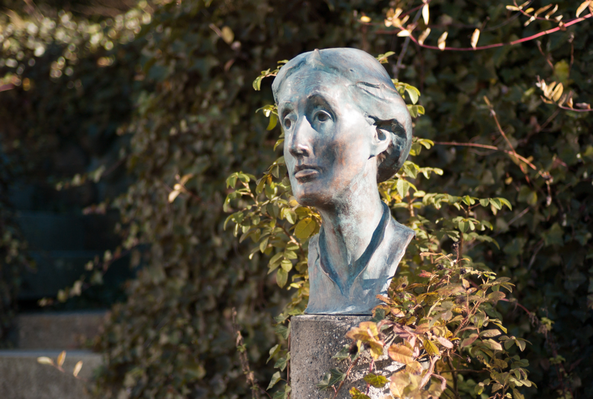 Stunning New Bronze Statue Of Virginia Woolf Created  Blogging Woolf With Gorgeous Woolf Bust With Beauteous Ebay Garden Sheds Also Cambridge Botanic Garden In Addition Flymo Garden Leaf Blower And Vacuum And Thai Covent Garden As Well As Garden Designs With Railway Sleepers Additionally Garden Tiller For Sale From Bloggingwoolfwordpresscom With   Gorgeous New Bronze Statue Of Virginia Woolf Created  Blogging Woolf With Beauteous Woolf Bust And Stunning Ebay Garden Sheds Also Cambridge Botanic Garden In Addition Flymo Garden Leaf Blower And Vacuum From Bloggingwoolfwordpresscom