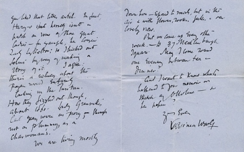 Woolf Morrell Letter