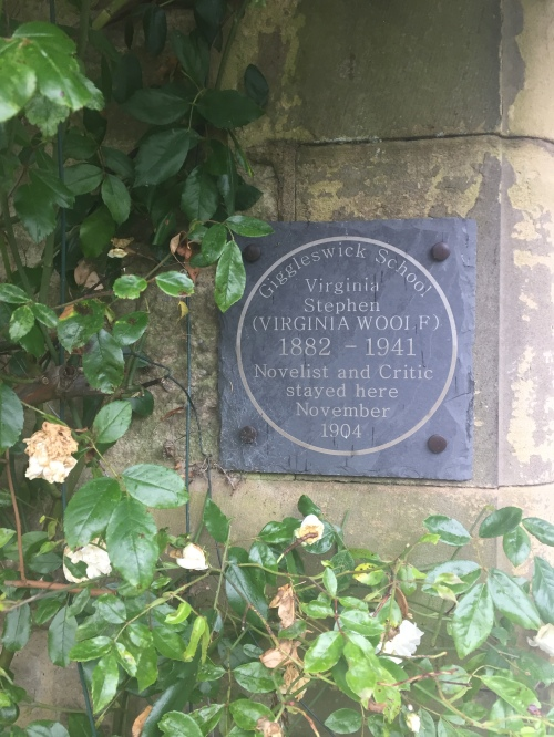 Giggleswick plaque