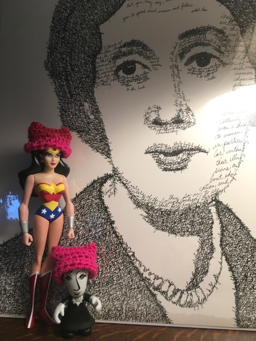 Wonder Woman, Woolf, and some of the words with which she fought.